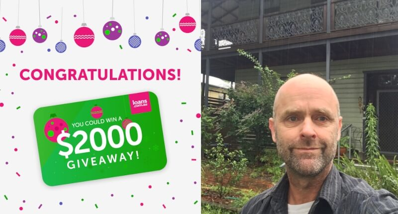 Christmas comes early with  loans.com.au $2000  giveaway
