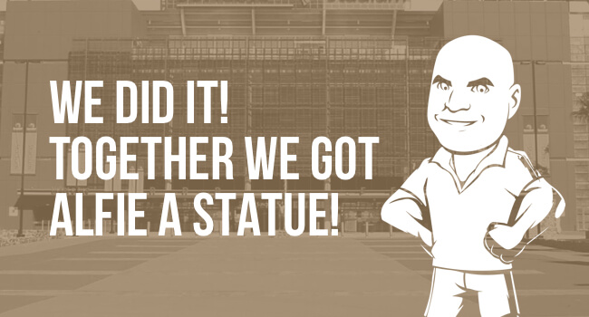 Alfie Langer Statue gets the go-ahead