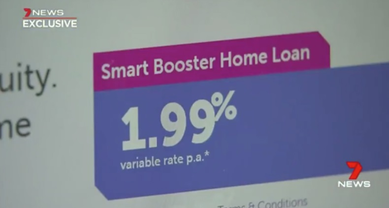 Home loan rate record low of 1.99%