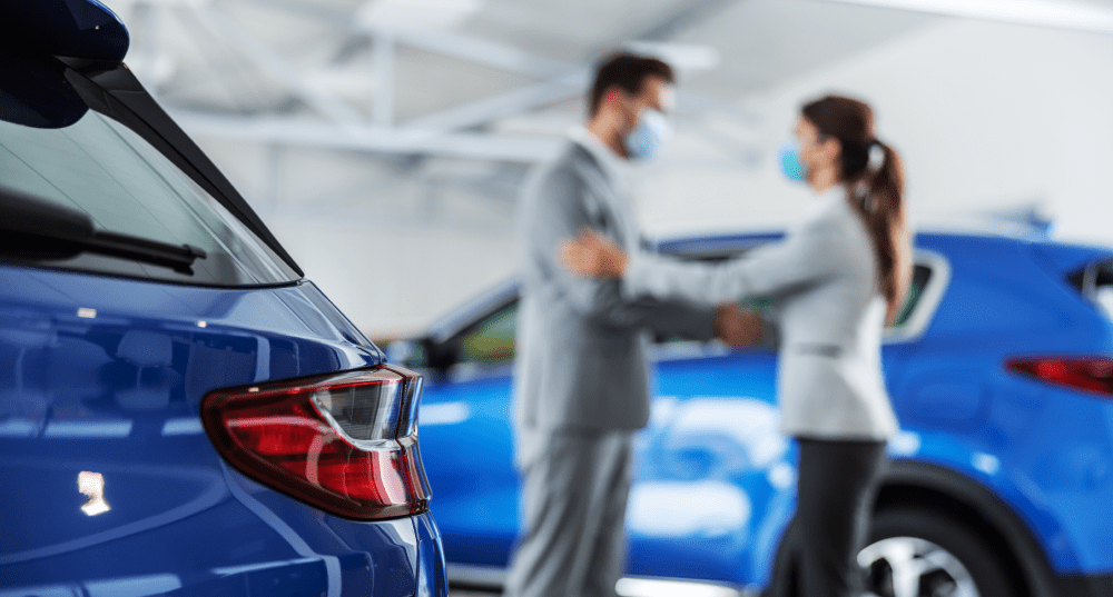 What has COVID meant for the car industry in 2021?