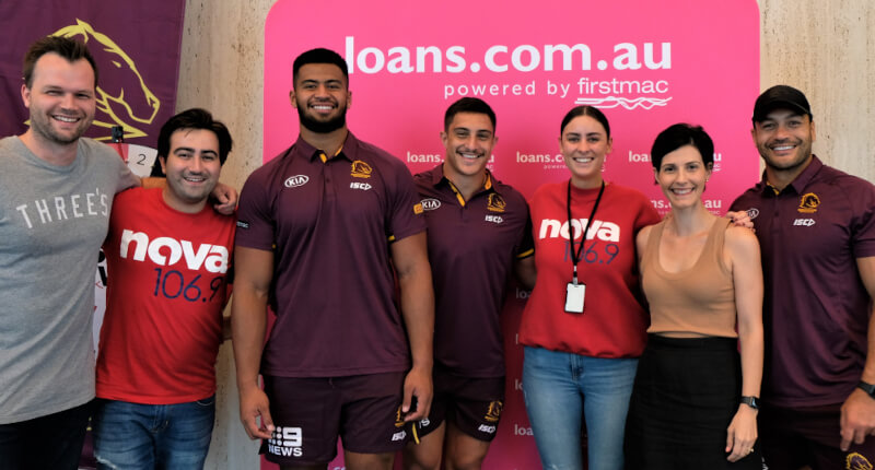 Broncos kick off the season with loans.com.au and Nova
