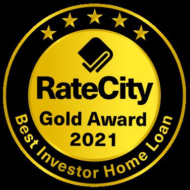 Gold Award - Best Investor Home Loan