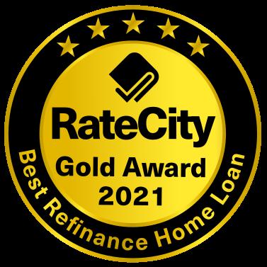 Gold Award - Best Refinance Home Loan